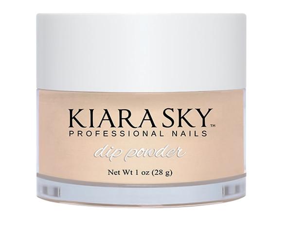 Kiara Sky Coloured Glitter Nail Dip Powder - Only Natural D492 (Sheer)