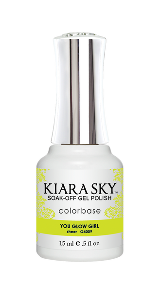 Kiara Sky Jelly Gel Polish 15ml - G4009 YOU GLOW GIRL