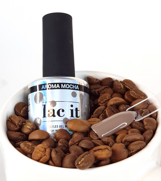 Lac It!™ Advanced Formula Gel Polish 15ml - Aroma Mocha (The Barista Collection)