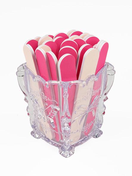 Promotional Pink Mini Nail File (12cm X 1.9cm) - 50 or 100PCS