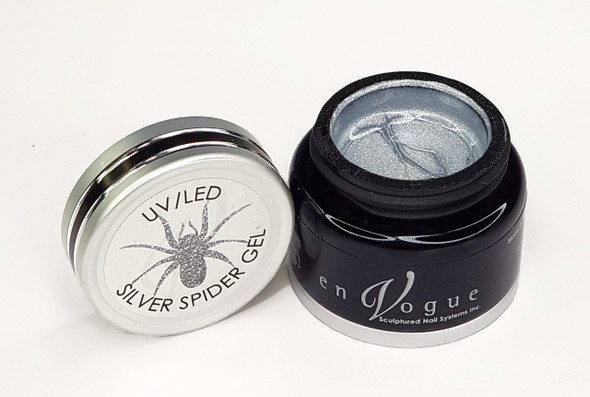 Silver Spider Gel for Nail Art