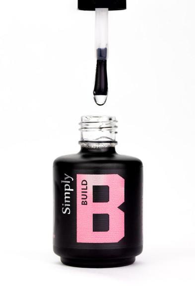 Simply Clear Build UV/LED Gel (Builder In A Bottle) - 15ml Bottle