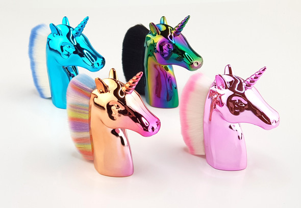 Unicorn Nail Dust Brush for Nails or Make-Up