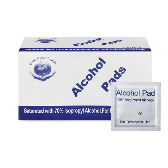 70% Isopropyl Alcohol Antiseptic Wipes Pads