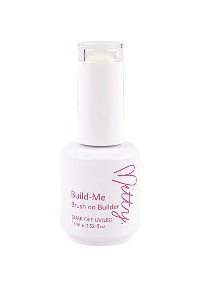 Mitty Build Me Brush on Clear Builder Gel 15ml