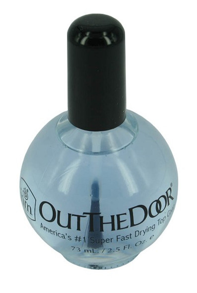 Out The Door Clear Top Coat 68ml - Large Salon Size! Air Dry Top Coat