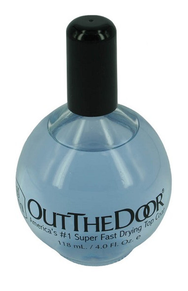Out The Door Clear Top Coat 106ml - Economical Refill Bottle! Best Air Dry Top Coat!