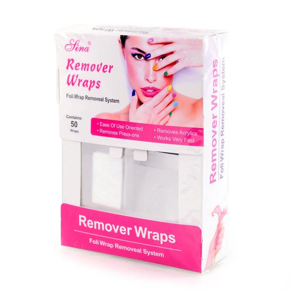 50PCS Foil Remover Wraps (Soak-Off Gel & Acrylic Nails)
