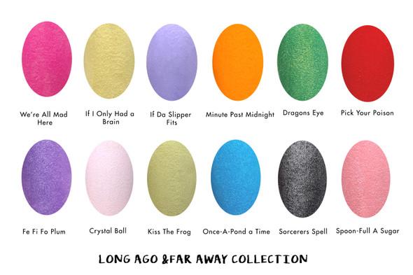 INM Long Ago & Far Away Acrylic Powder Colour Chart