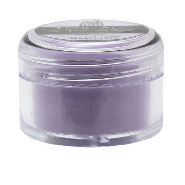 FE-FI-FO PLUM - Purple Acrylic Powder (Silver Shimmer) 14gm