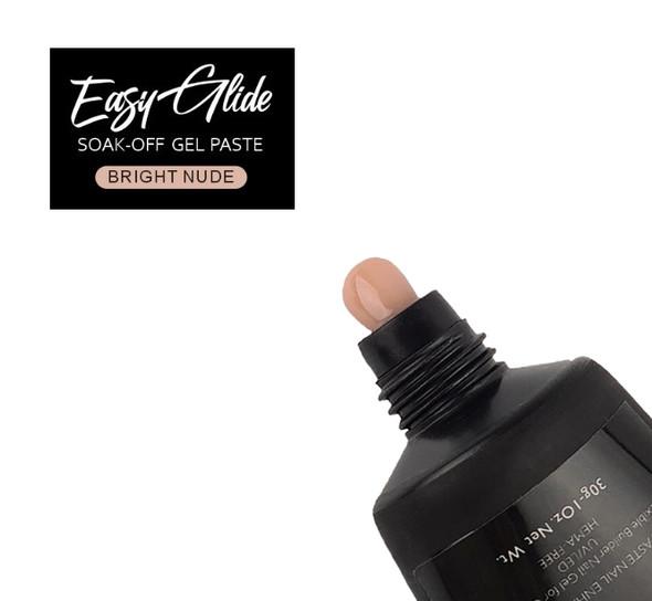 Easy Glide Soak-Off UV/LED Gel Paste For Nails (HEMA FREE) - Bright Nude 30gm
