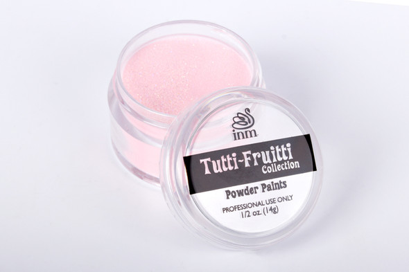 SLAMIN' STRAWBERRY - Light Pink Glitter Acrylic Nail Powder 14gm