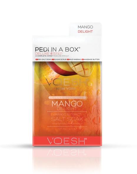 Voesh 4 Step Pedi-In-A-Box Mango Delight