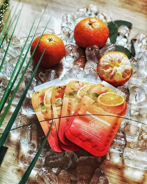 Voesh 4 Step Pedi-In-A-Box Tangerine Twist