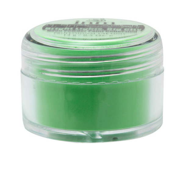 EMERALD CITY - Neon Green Acrylic Powder 14gm. Bright Lights Big City.