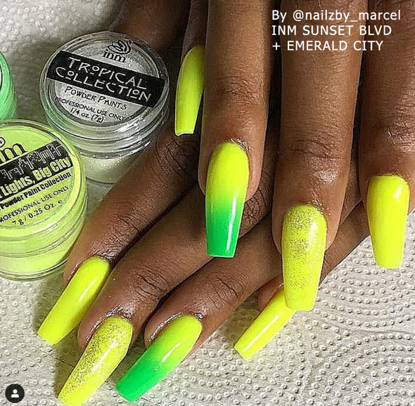 SUNSET BLVD - Neon Yellow Acrylic Powder 14gm