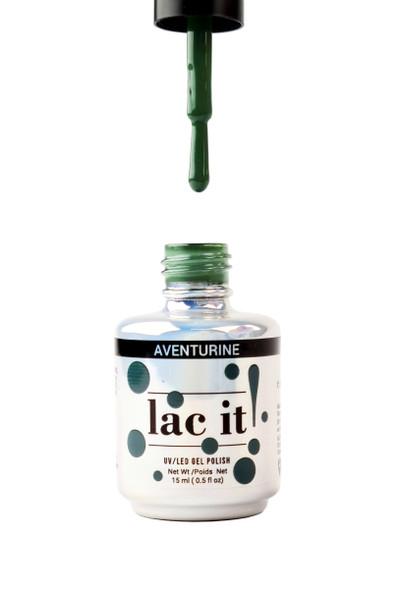 Lac It!™ Advanced Formula Gel Polish 15ml - Aventurine (Gemstone Collection)
