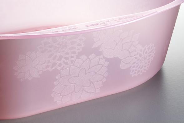 Belava Foot Bath Tub + 20PCS Disposable Liners (Pink Tub)