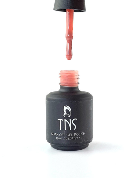 TNS Jelly Gel Polish Colours (15ml Bottle) - NUDE PINK