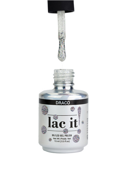 Lac It!™ Advanced Formula Gel Polish 15ml - Draco (Starry Night)