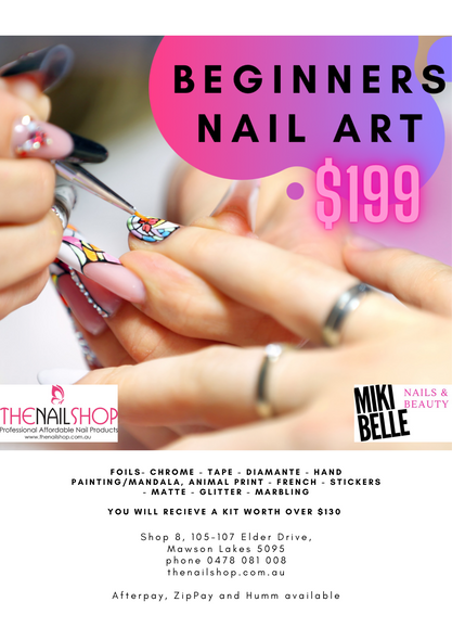 BEGINNERS NAIL ART COURSE (ADELAIDE)