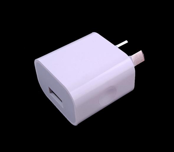 USB AU Adapter Plug Output 5V 2A Only (For SUNUV SUNMINI2 6W Travel Lamp)