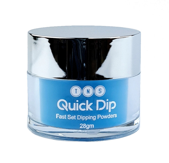 TNS Quick Dip Fast Setting Coloured Powder 28gm - Neon Blue QD052
