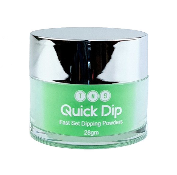 TNS Quick Dip Fast Setting Coloured Powder 28gm - Neon Green QD054