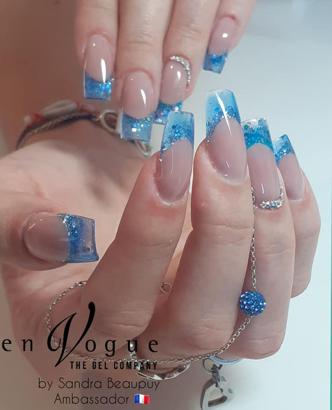 Simply Nail Gel UV/LED (Hard Gel) 5ml - Ice Blue  (Transparent Blue)