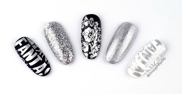 Pamper Plates Professional Stamping UV/LED Gel Paint 15ml - SILVER