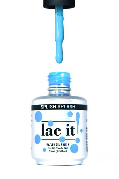 Lac It!™ Advanced Formula Gel Polish 15ml - Splish Splash (Pool Party Collection)