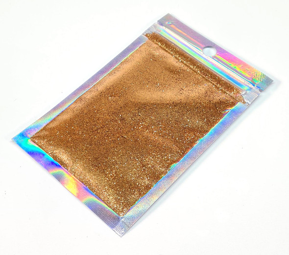 Egyptian Gold Glitter for Nail Art (15gm Bag) - Medium