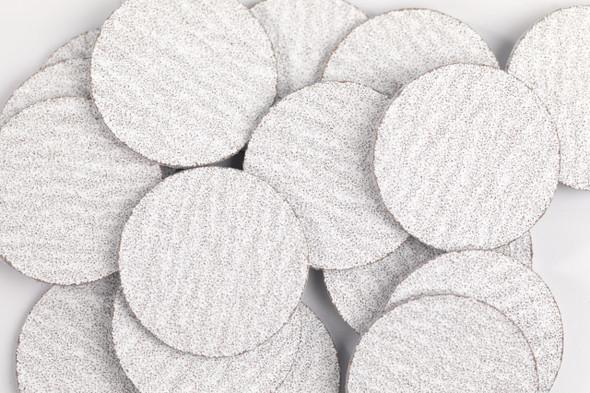 50PCS X Disposable Premium White Zebra 3cm Sanding Discs for Pedicures - MEDIUM #150 GRIT