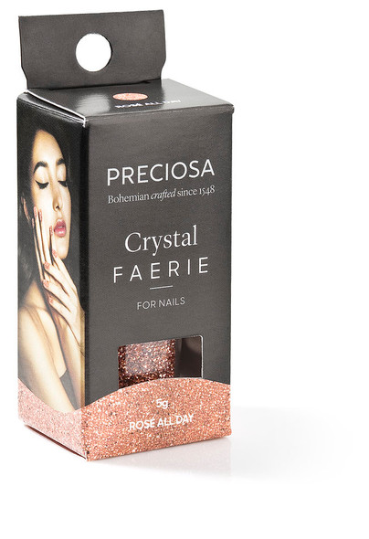 Preciosa Crystal Faerie for Nail Art - Rose All Day
