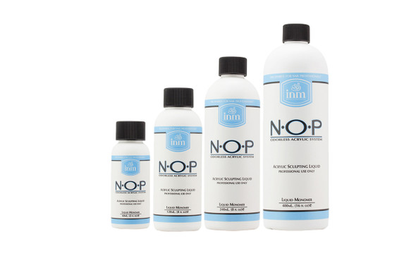 INM NOP Odourless Sculpting Liquid Monomer (60ml,118ml, 240ml, 480ml)