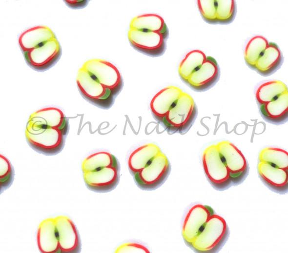 Sliced Apple Fimo Clay Nail Art (30pcs)