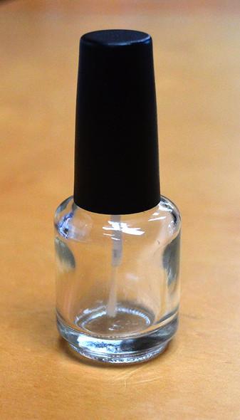 Empty Cuticle Oil Bottles/Nail Polish Bottles 15ml (BULK) - Quality DuPont Brush (+ Free Ball Bearings)