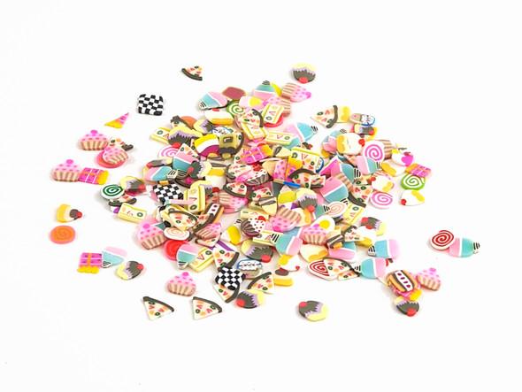 Lollies, Icecreams & Cup Cakes Nail Art Fimo Bag