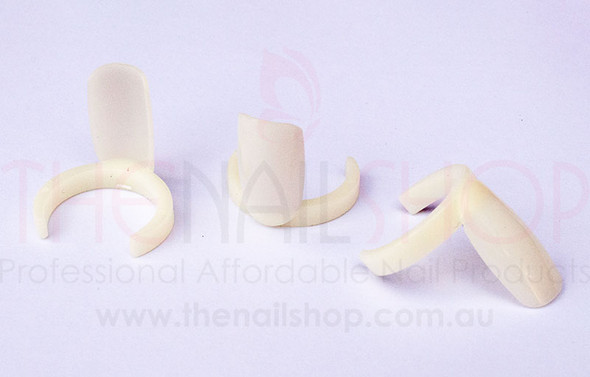 Tip rings are natural in colour. 50PCS Per Bag