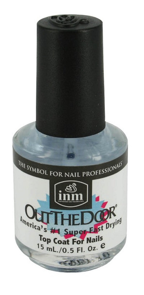 Out The Door Clear Top Coat 15ml - 60 Seconds to Air Dry!