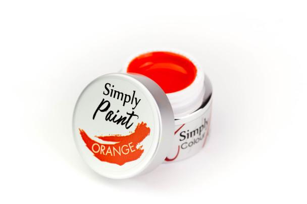 SIMPLY Paint Gel (UV/LED) - Orange