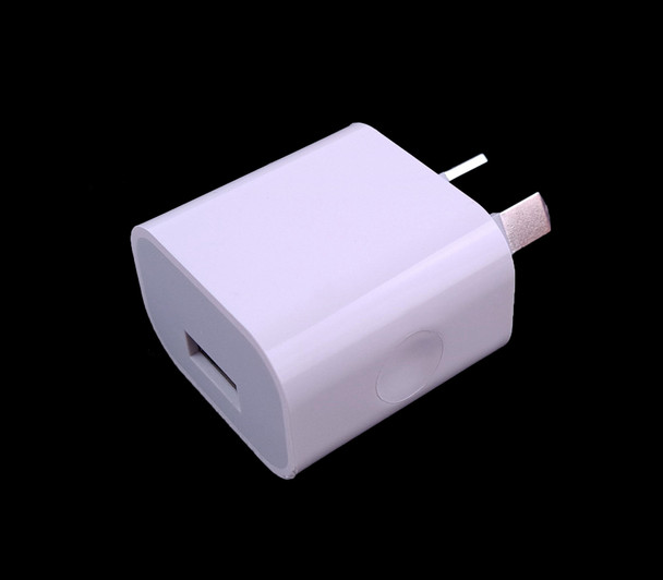 USB AU Adapter Plug Output 5V 2A Only (For SUNUV SUNMINI2 6W Travel Lamp)