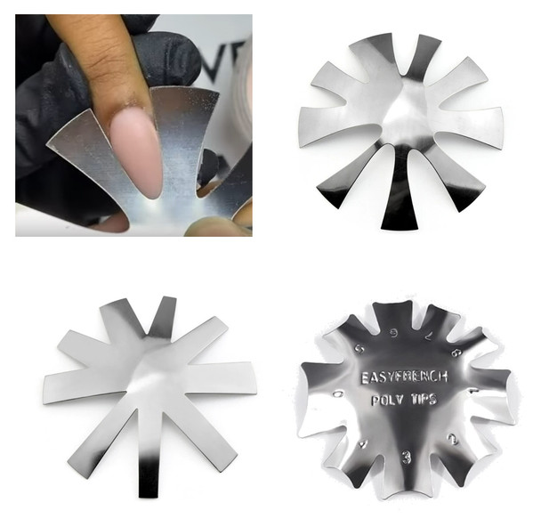 French Smile Line Cutter for Acrylic Nails (Available in Natural, Deep and Chevron Cut)