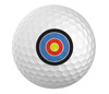 Bullseye Golfball Set of 3