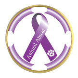 Awareness Ribbon Ball Marker- Animal Abuse