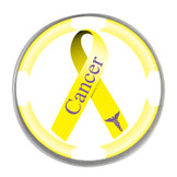 Awareness Ribbon Ball Marker- Cancer