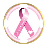 Awareness Ribbon Ball Marker- Breast Cancer