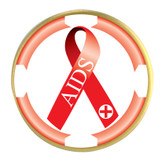 Awareness Ribbon Ball Marker- Aids