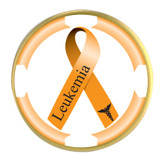 Awareness Ribbon Ball Marker- Leukemia