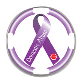 Awareness Ribbon Ball Marker- Domestic Abuse